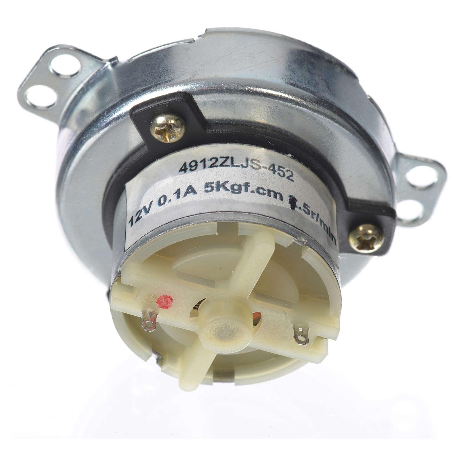 Motoriduttore MECC presepe 5 giri/min 4