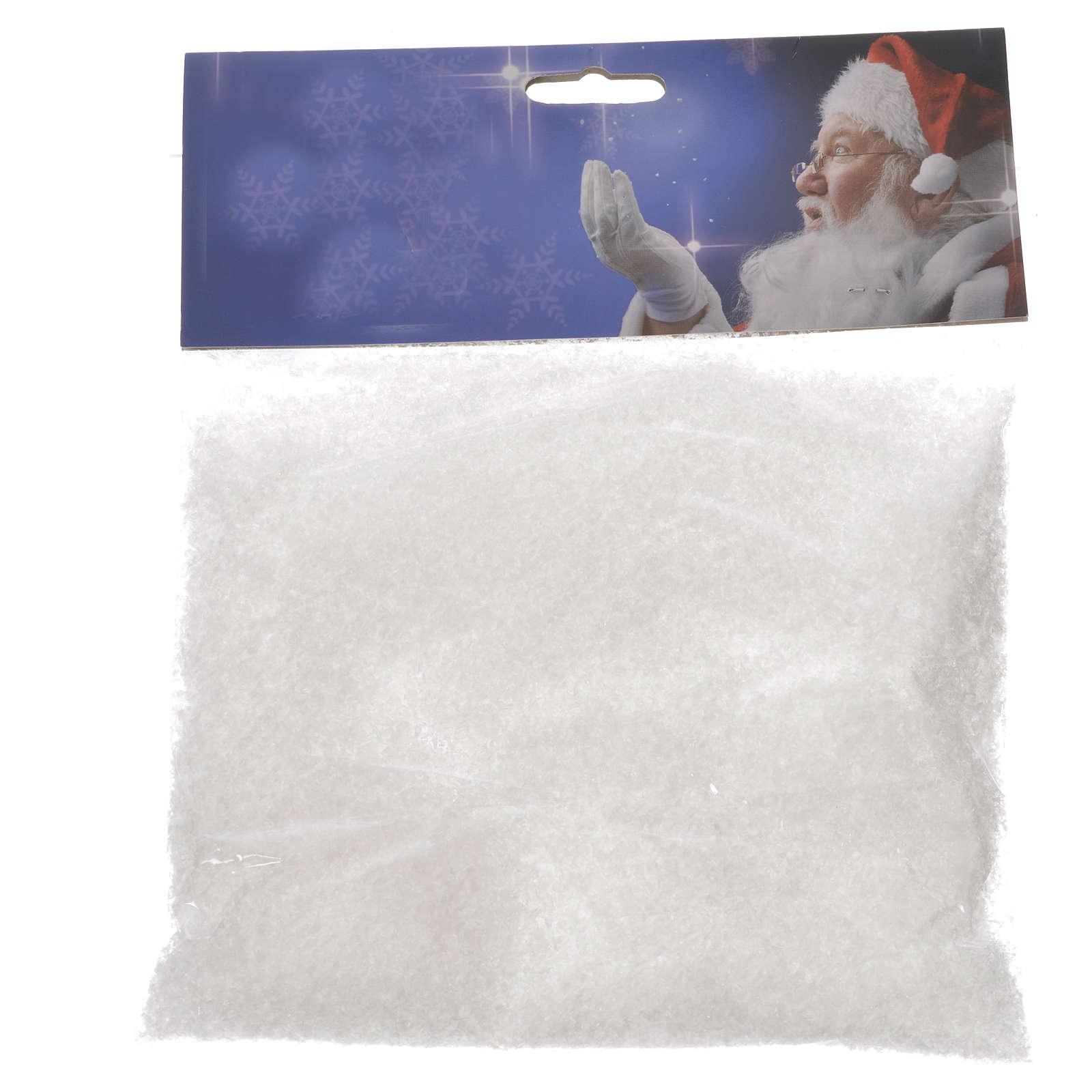 Neve artificiale 50 gr presepe fai da te 4