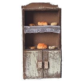 Acessórios de Casa para Presépio: Prateleiras presépio pão e queijo 13x7x4 cm modelos vários