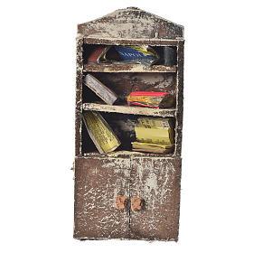 Acessórios de Casa para Presépio: Estante com livros presépio 15x7x3 cm