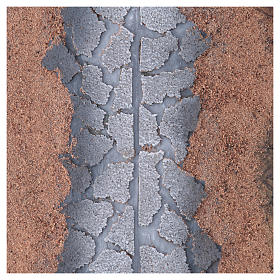 Hoja de papel roca carretera 100x70 cm s1