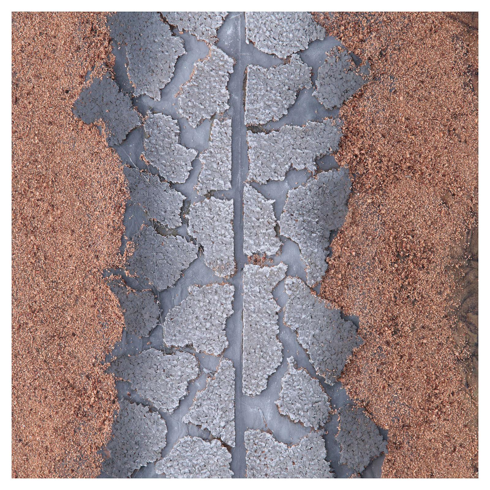 Foglio carta roccia strada 100x70 cm 4