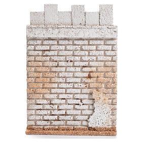 Laterale di castello 19x13 cm sughero s1