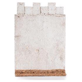 Laterale di castello 19x13 cm sughero s2