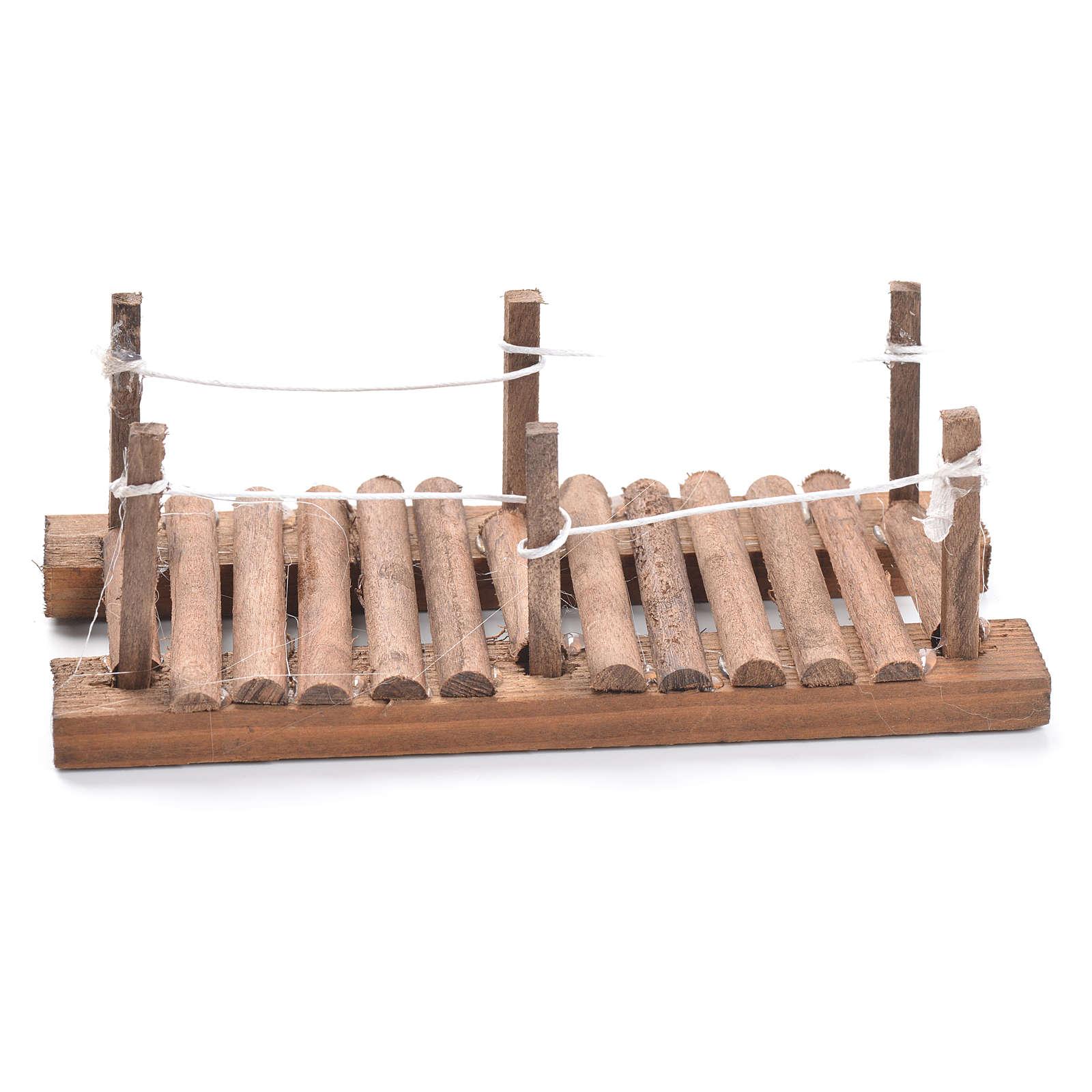 Pasarela de madera belén 5x15x7 cm 4