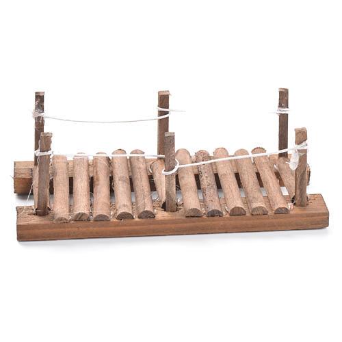 Passerelle en bois crèche 5x15x7cm 1