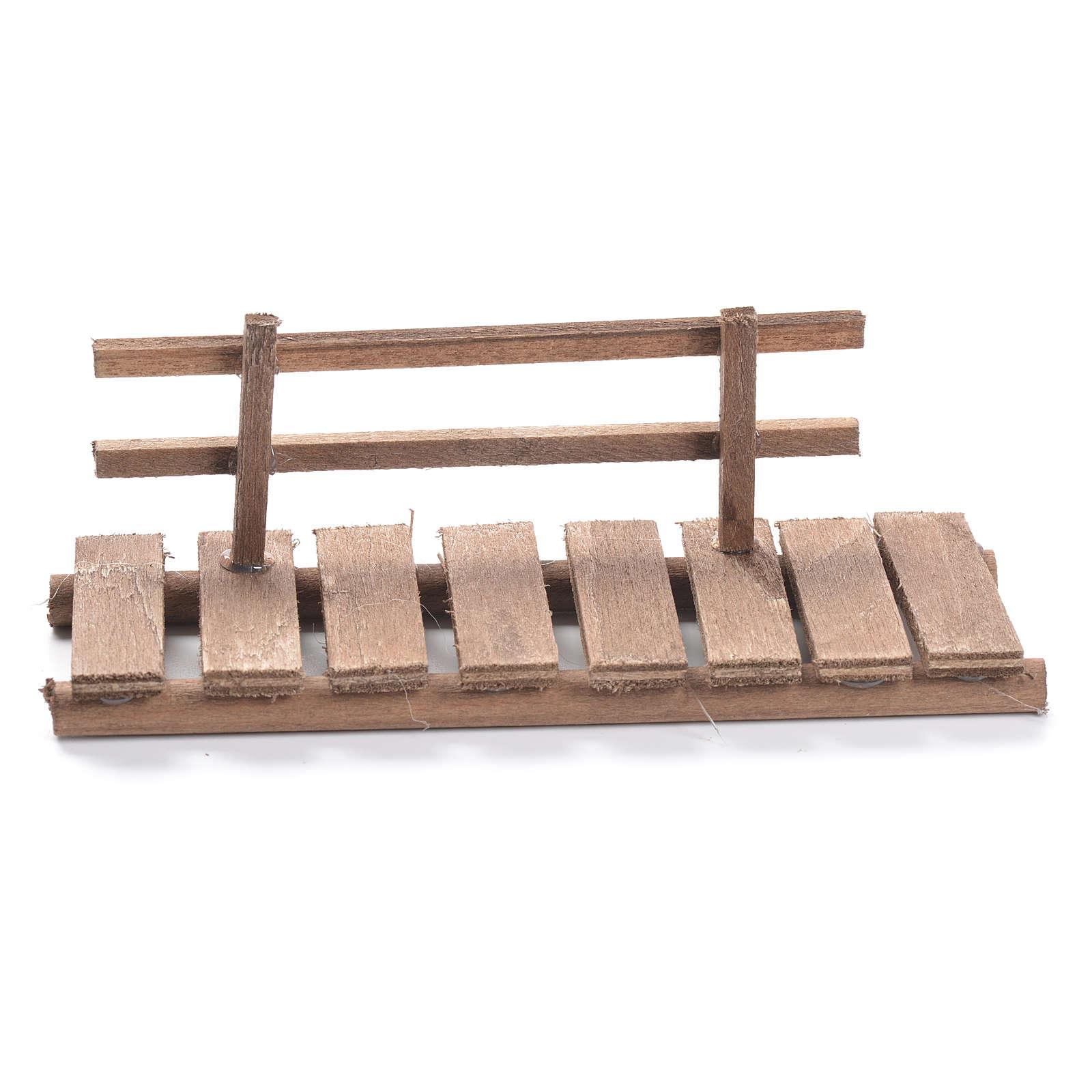 Passerella presepe in legno cm 5x15x5 4