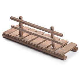 Passerella presepe in legno cm 5x15x5 s2