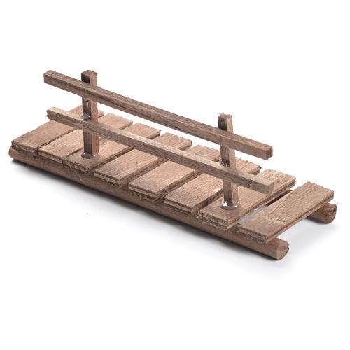 Passerella presepe in legno cm 5x15x5 2