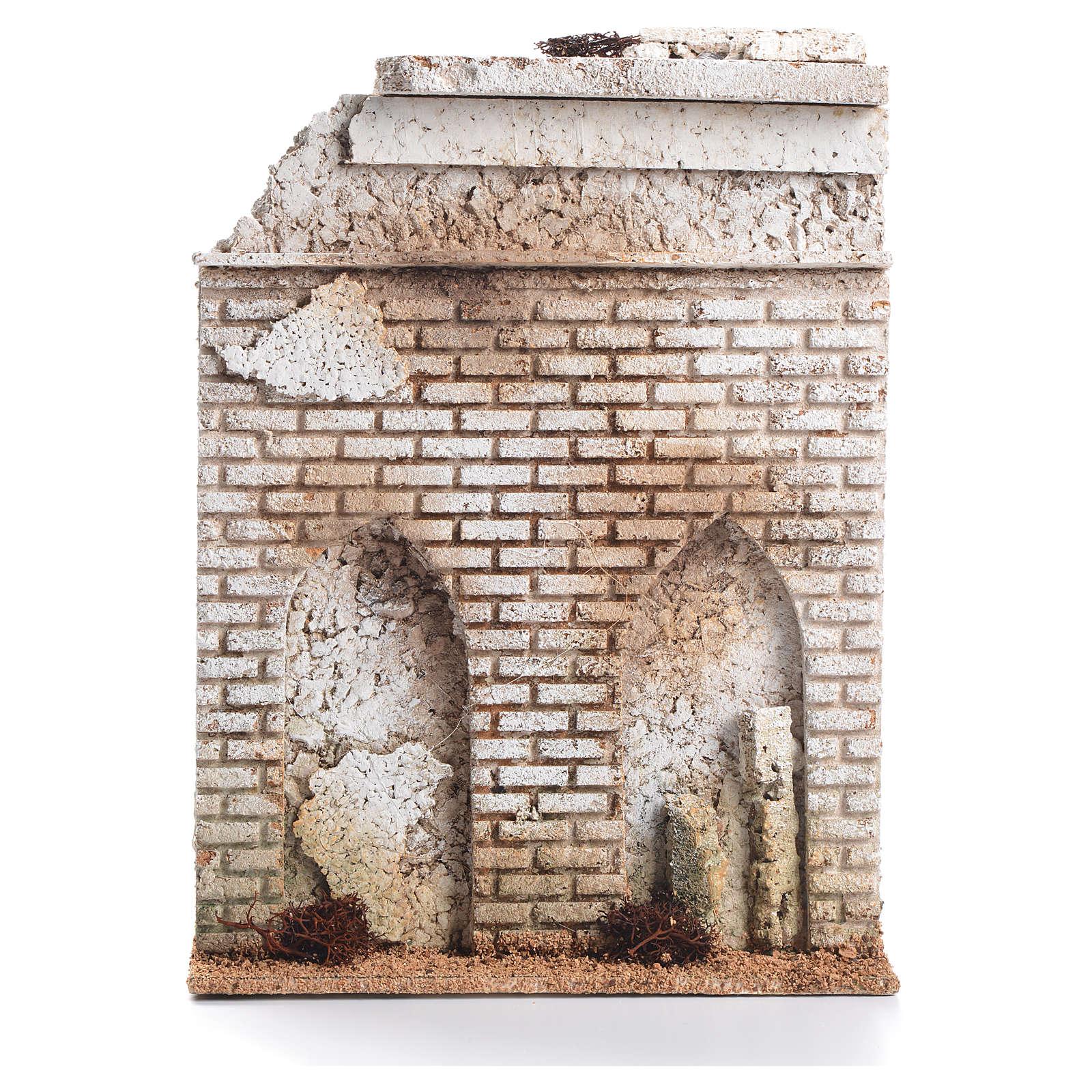 Mur liège avec fausse porte crèche 27x21x5cm 4