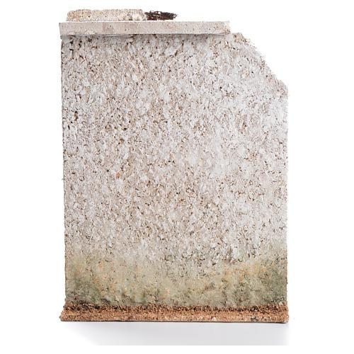 Mur liège avec fausse porte crèche 27x21x5cm 2