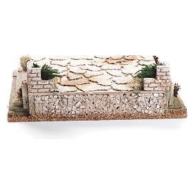 Plaza para belén de corcho 12x35x26 cm s3