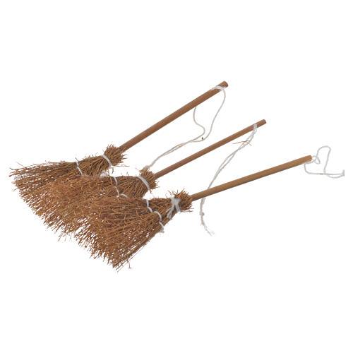 Broomsticks 3 pcs nativity scene 1