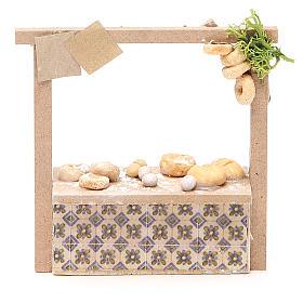 Banchetto presepe pane e dolci  10,5x11x4 cm s1