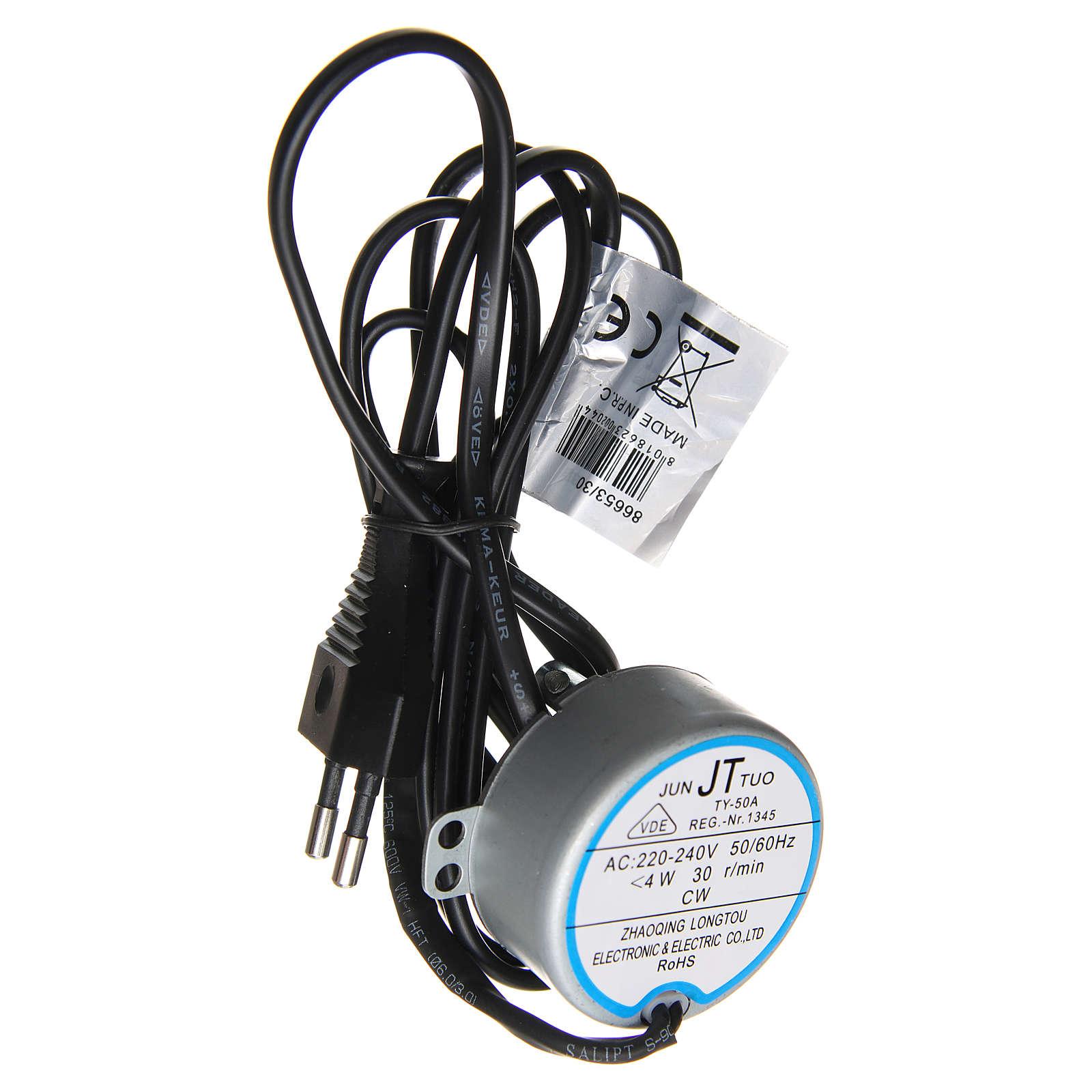 Motoriduttore presepe movimenti 4 watt 30 giri/min 4