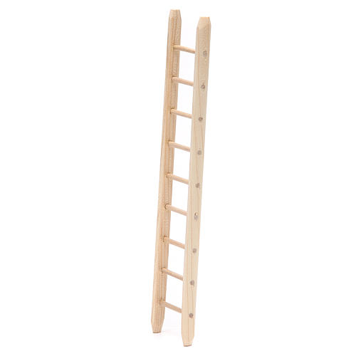 Ladder in wood h. 18x4cm 2