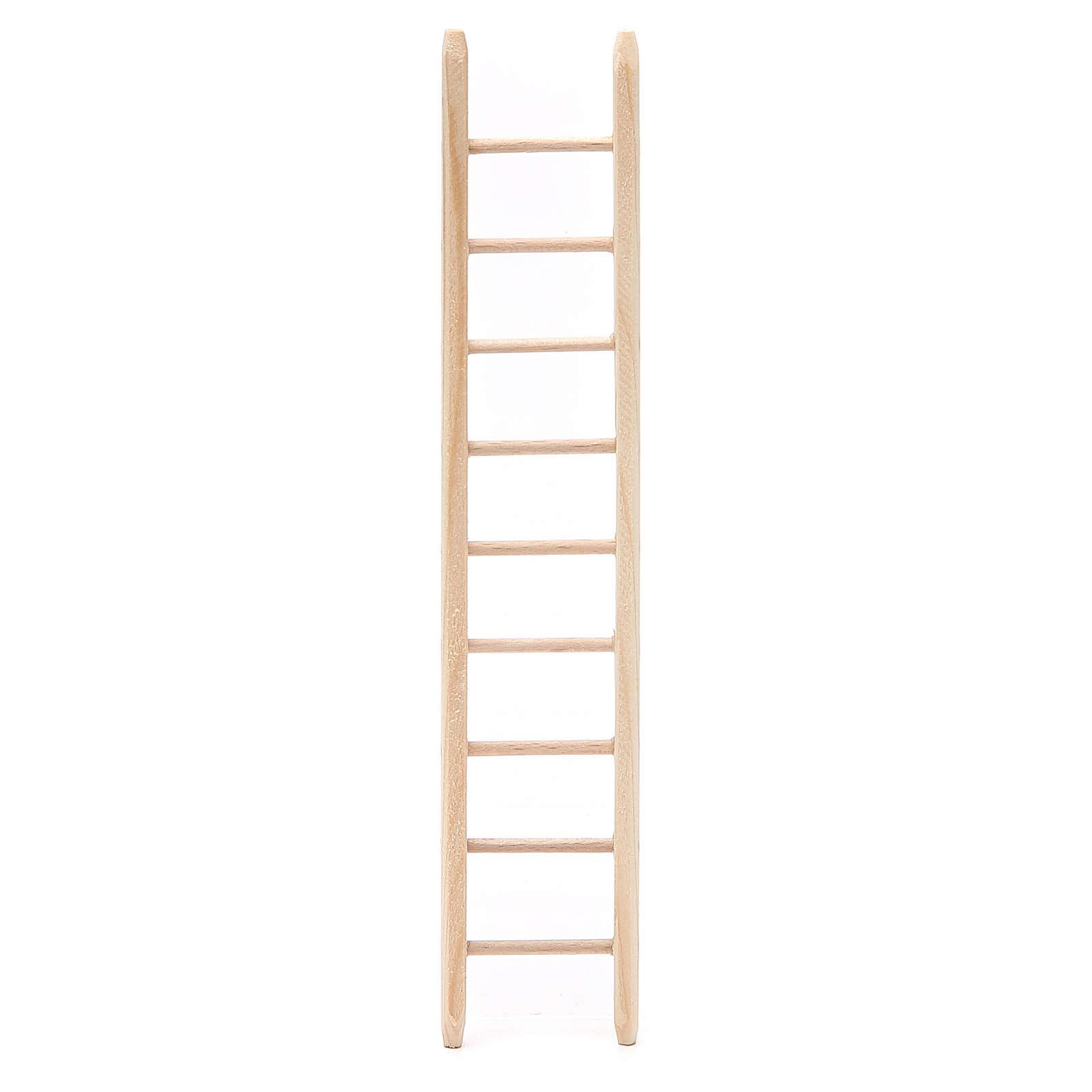 Escalera de madera h 18x4 cm 4