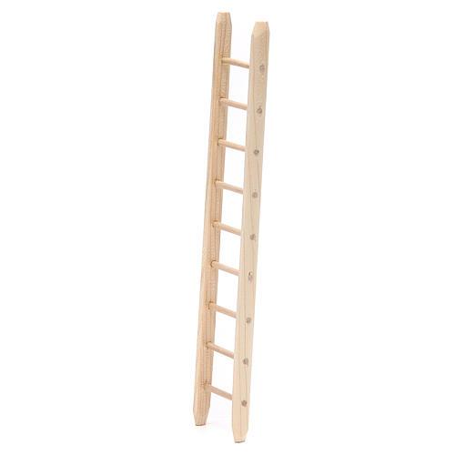 Escalera de madera h 18x4 cm 2