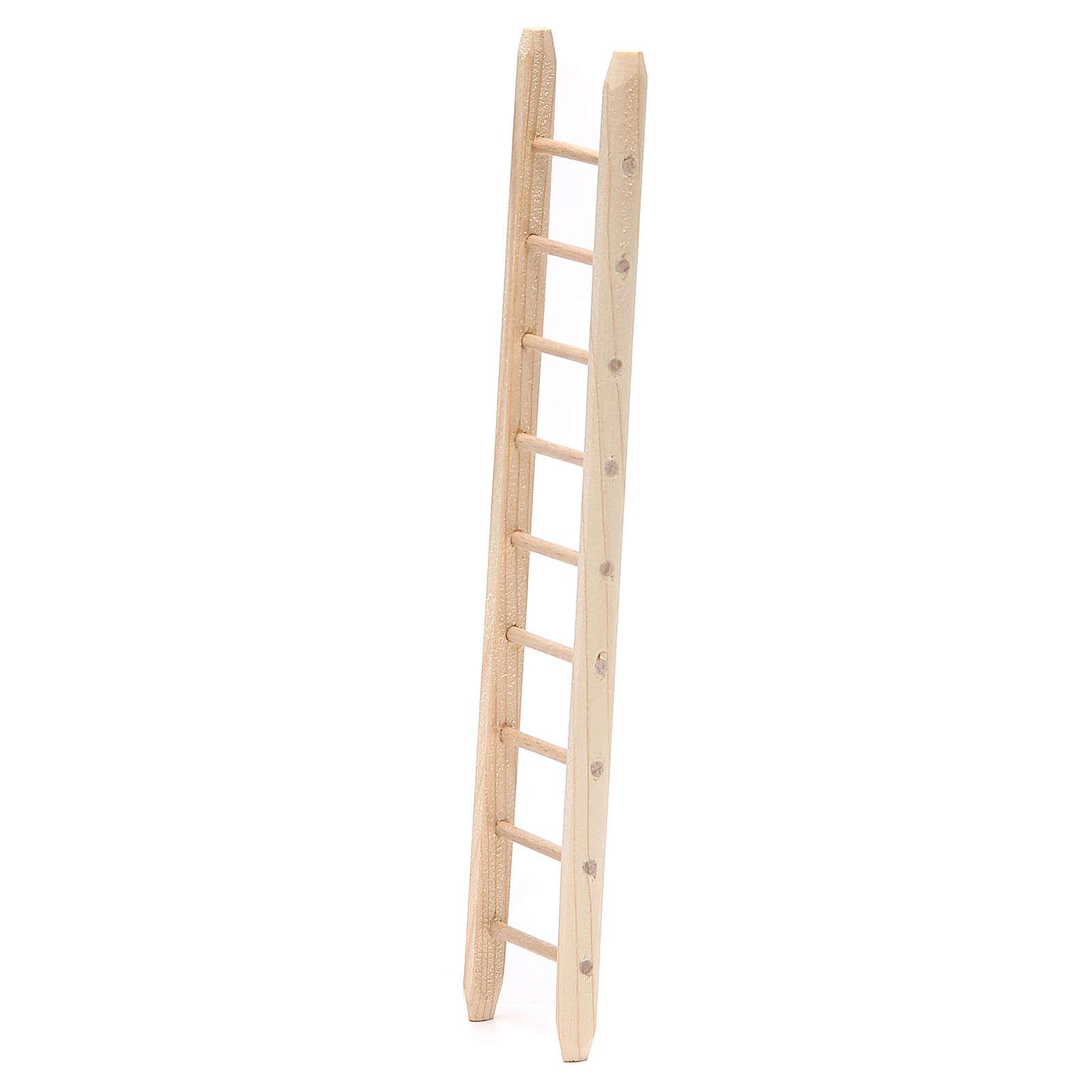 Scala in legno h. 18x4 cm 4