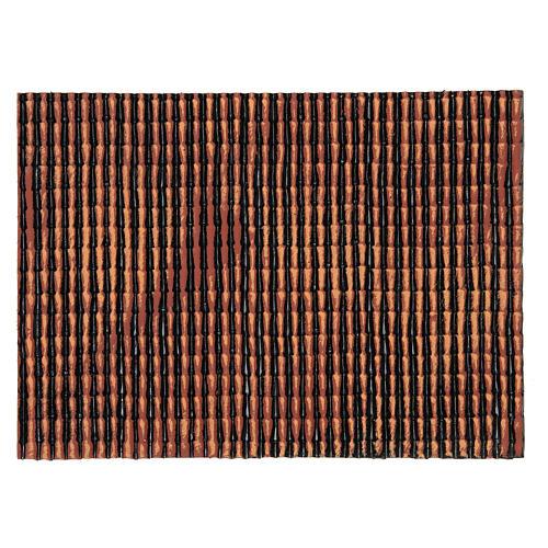Panel plástico techo belén rojo degradado 35x25 cm 1