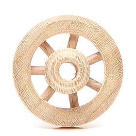 Roue en bois diamètre 3,5 cm s1