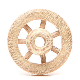 Roda de madeira diâmetro 3,5 cm s1