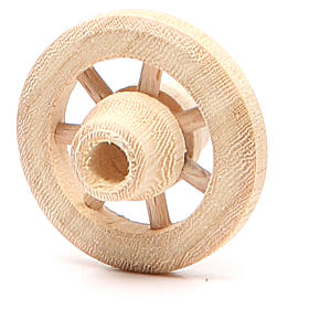 Wooden wheel 3.5cm diameter s2