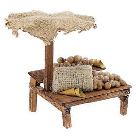 Nativity Bench with eggs and beach umbrella 12x10x12cm s3