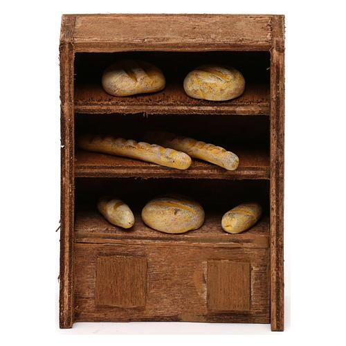 Bread Shelf for nativities 10cm 1