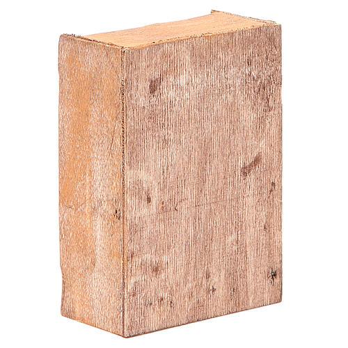 Estante del pan para belenes altura cm 12 3