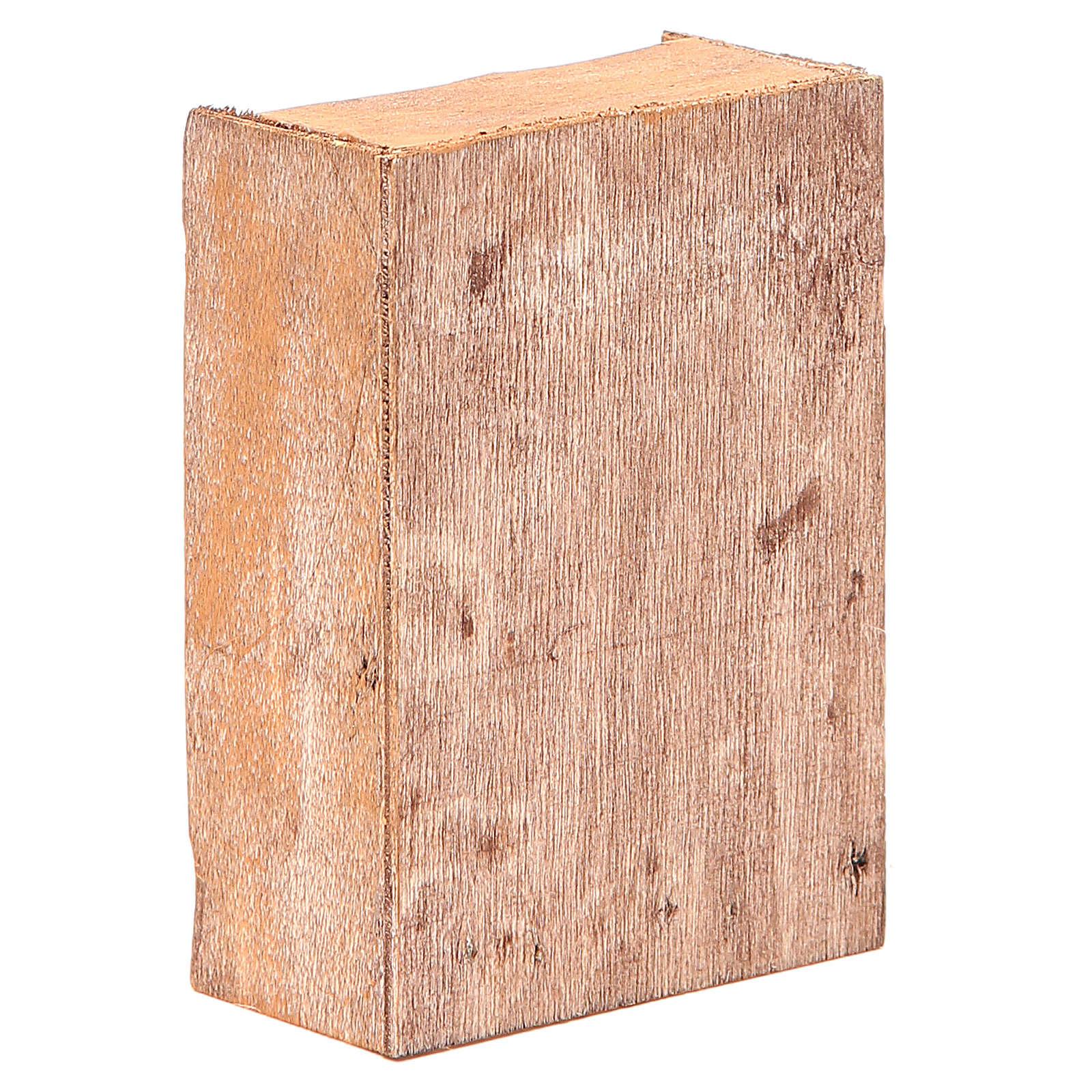 Ripiano del pane per presepi altezza cm 12 4