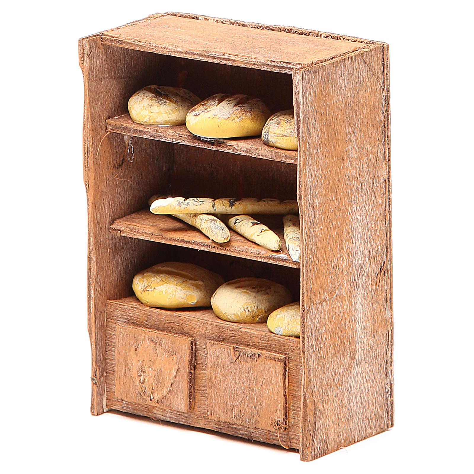 Kosz z chlebem 12cm do szopki 4