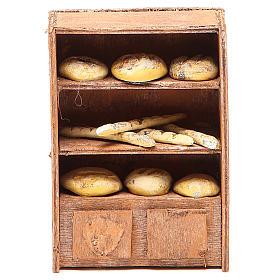 Kosz z chlebem 12cm do szopki s1