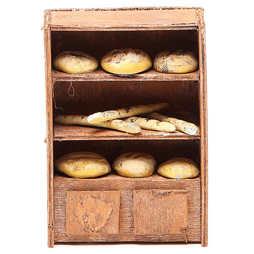 Bread Shelf for nativities of 12cm 1
