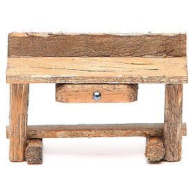 Acessórios de Casa para Presépio: Escrivaninha presépio 6x4x9 cm