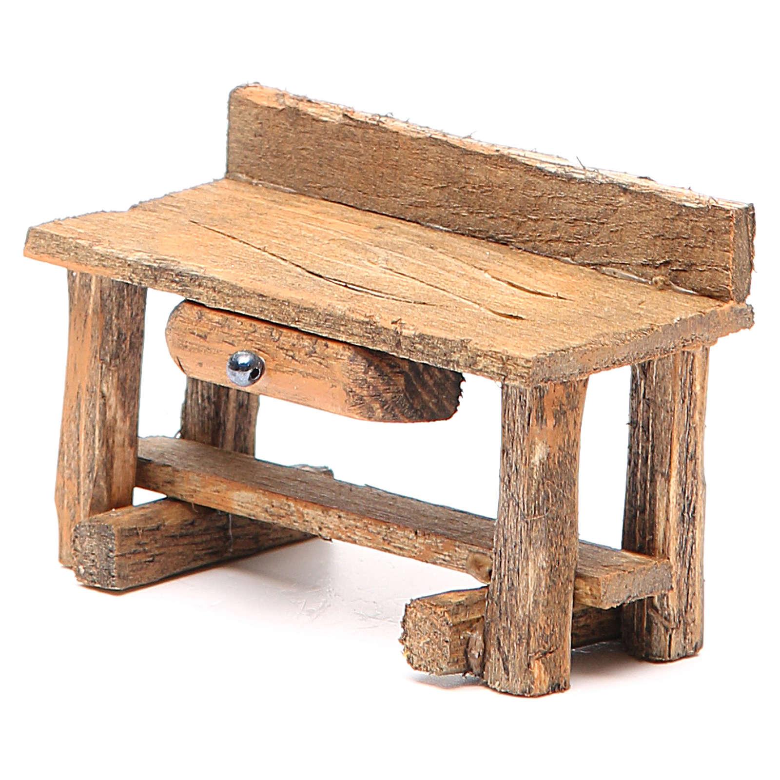 Desk nativity 6x4x9cm 4