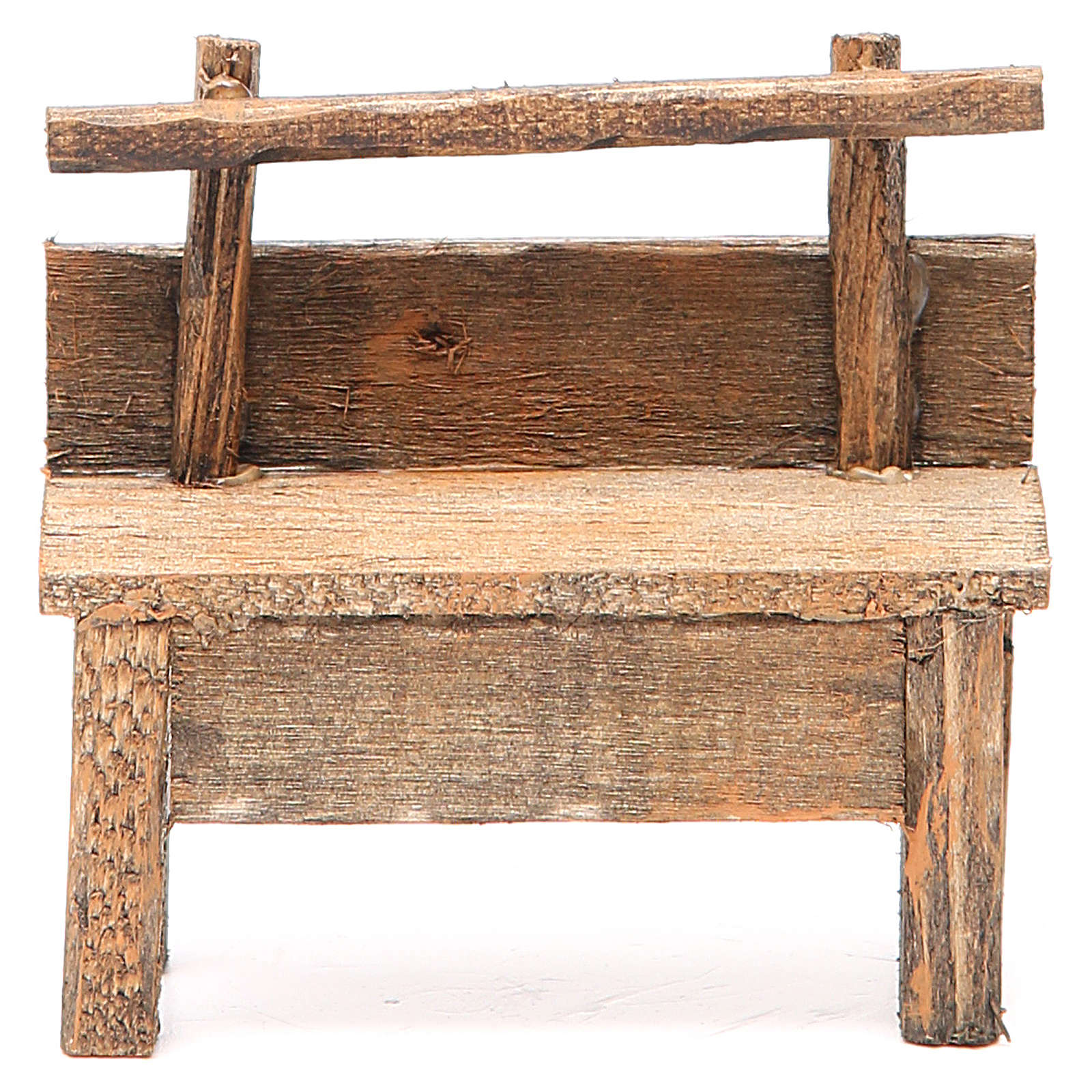 Panchina per presepe 8X4X9 cm 4