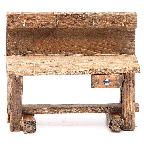 Work bench for nativity 8x4x9cm 1