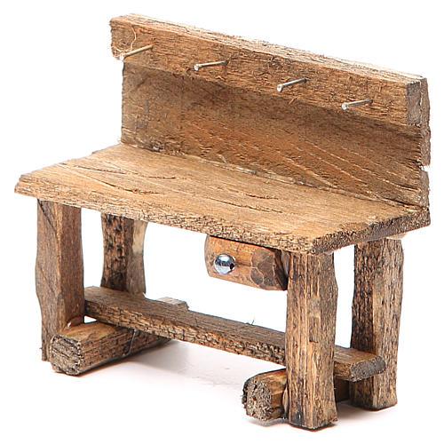 Mesa de trabajo para belén 8x4x9 cm 2