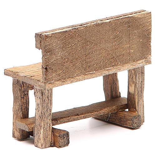 Mesa de trabajo para belén 8x4x9 cm 3