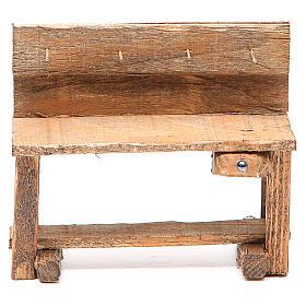 Work bench for nativity 10x5x9cm s1