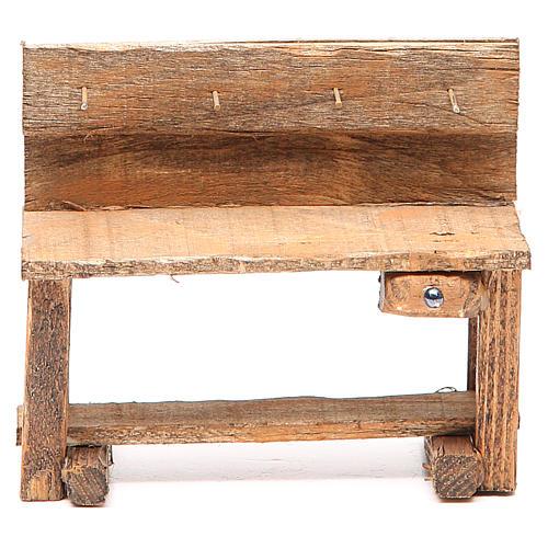 Work bench for nativity 10x5x9cm 1