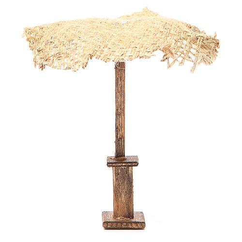 Beach Umbrella jute Nativity 12x10x10cm 1