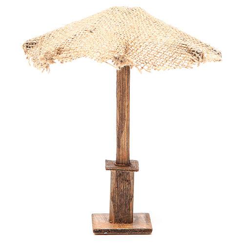 Beach Umbrella jute Nativity 16x16x16cm 1