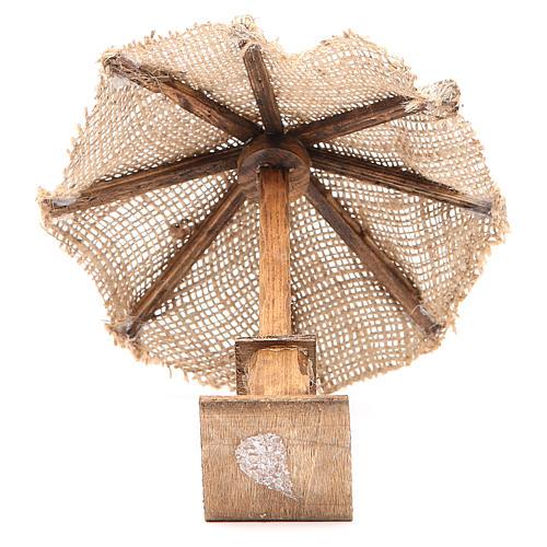 Beach Umbrella jute Nativity 16x16x16cm 3