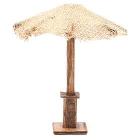 Guarda-chuva juta para presépio 16x16x16 cm s1