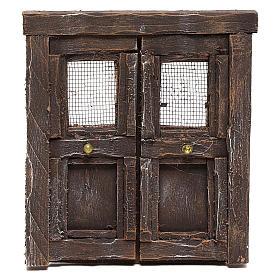 Puerta para belén madera 13x11 cm s1