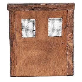 Puerta para belén madera 13x11 cm s4