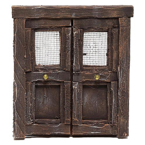 Puerta para belén madera 13x11 cm 1