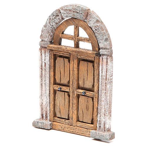 Porta arco presepe 18X12 cm 2